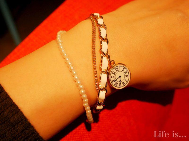時計のプレスレット
