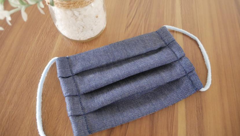 プリーツ マスク 作り方 手縫い 簡単