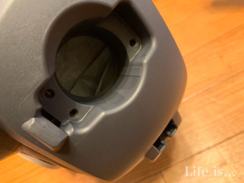三菱掃除機TC-FXF7Pホース差込口